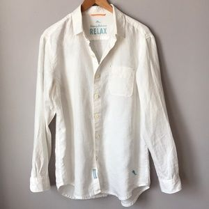 Tommy Bahama Sea Glass Breeze Linen Shirt